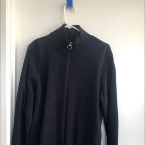 New without tag man's sweater with zipper